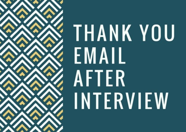 phone interview thank you email follow up email examples