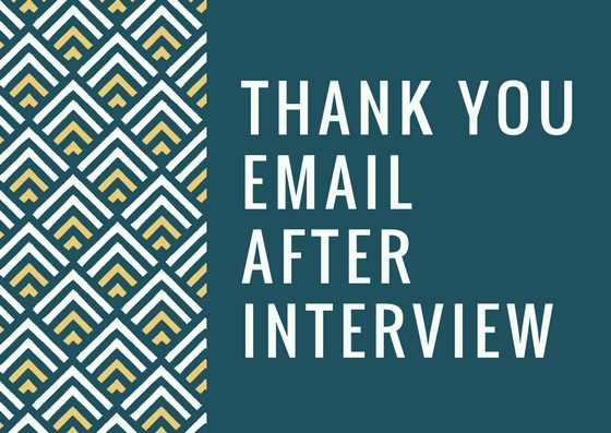 Phone Interview Thank You Email