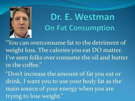If he did say this, Dr. Westman is wrong
