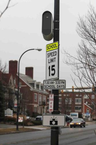 Brown administration rejects report critical of school zone speed cameras