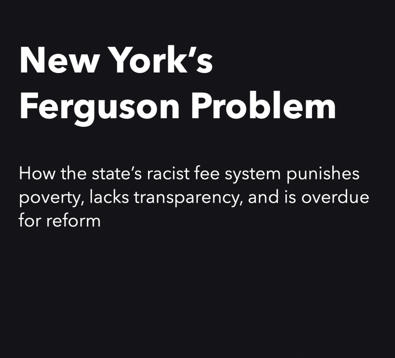 New York's Ferguson Problem – New Report