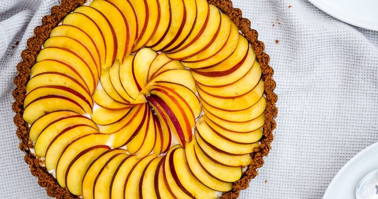 Tarte Nectarine façon Cheesecake