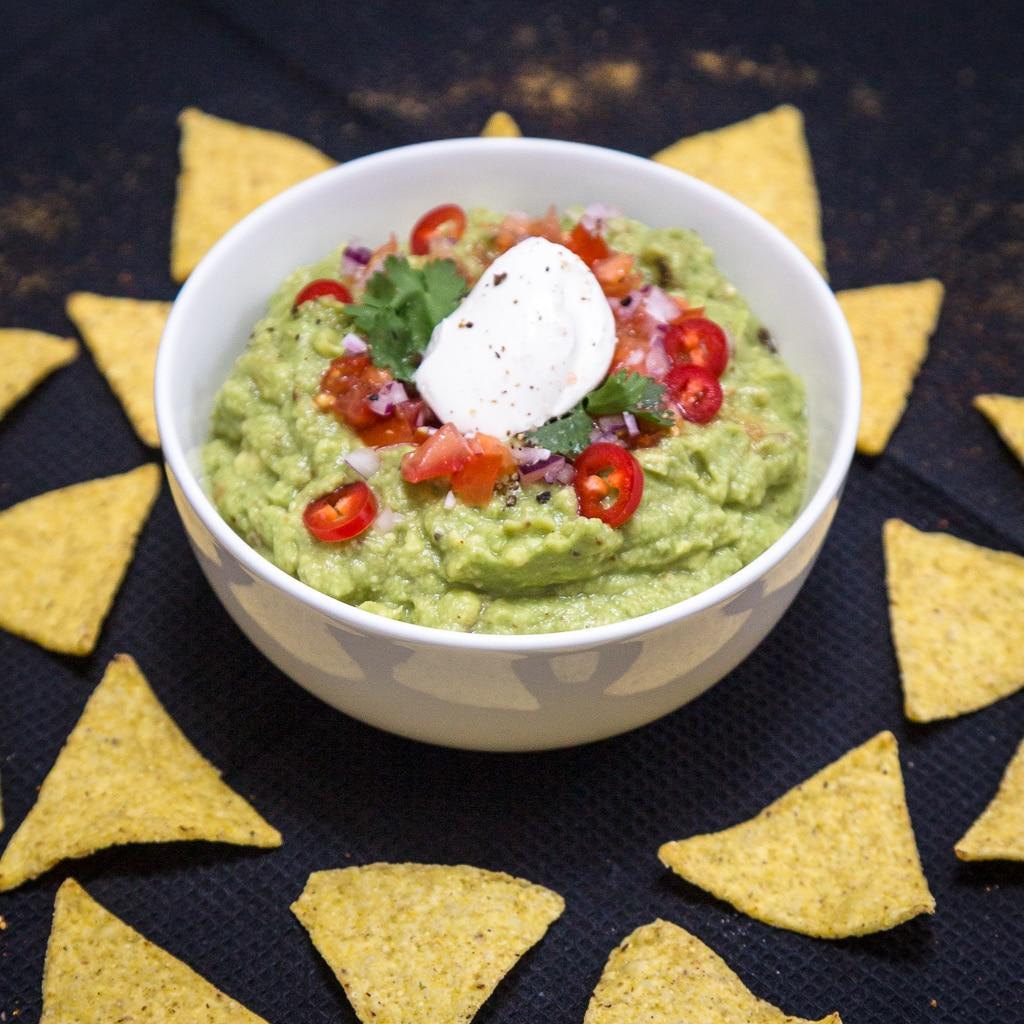 La recette du vrai guacamole à la mexicaine :)