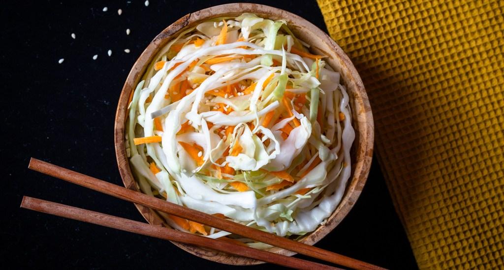 Salade Croquante de Chou au Sésame