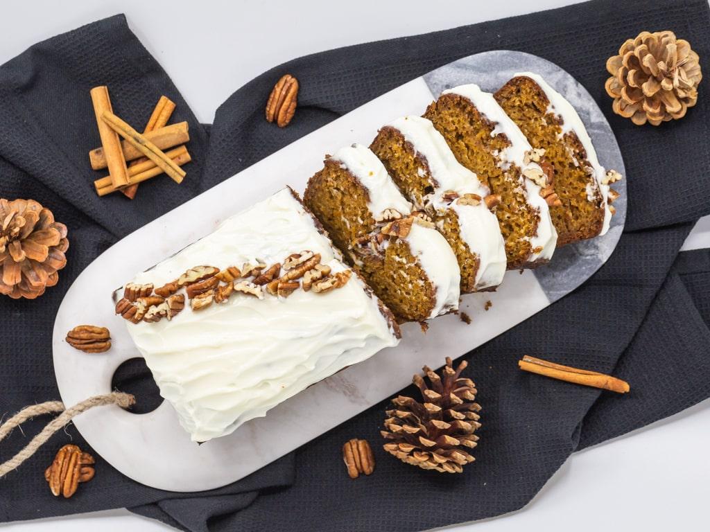 Carrot Cake au Potimarron