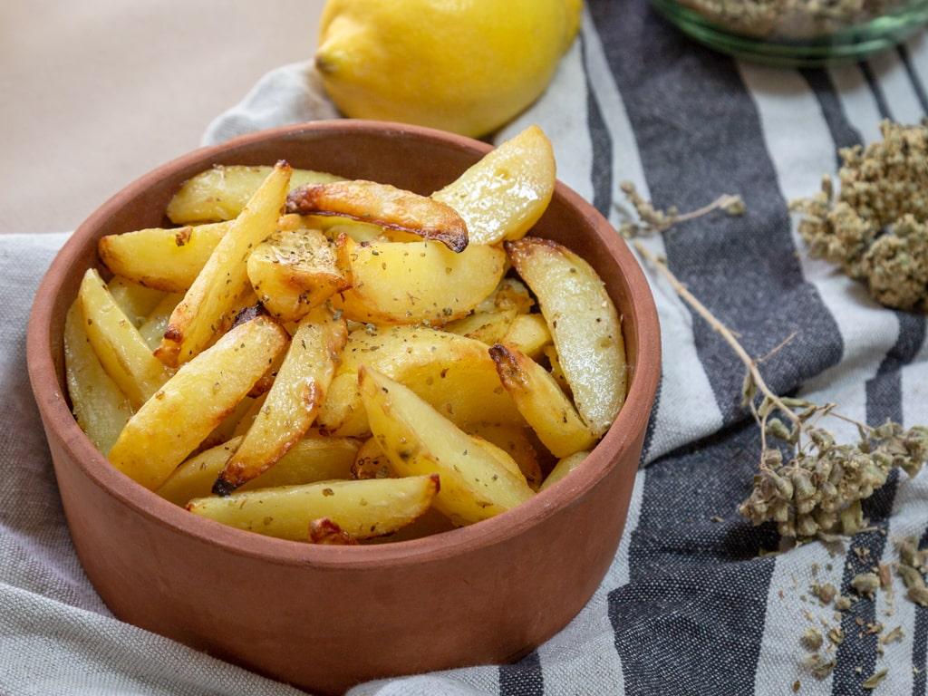 Patates au four à la grecque (patatès sto fourno)
