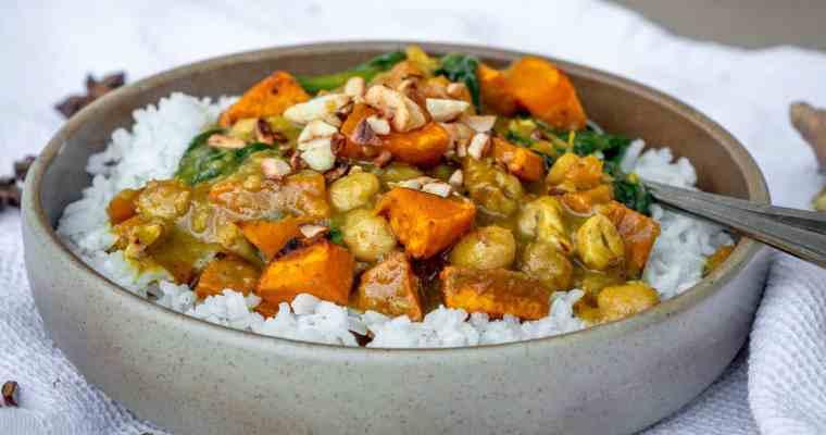 Curry Vegan Automnal