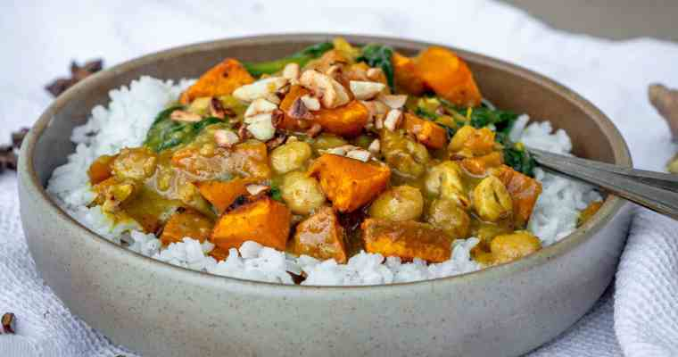 Curry Vegan Automnal