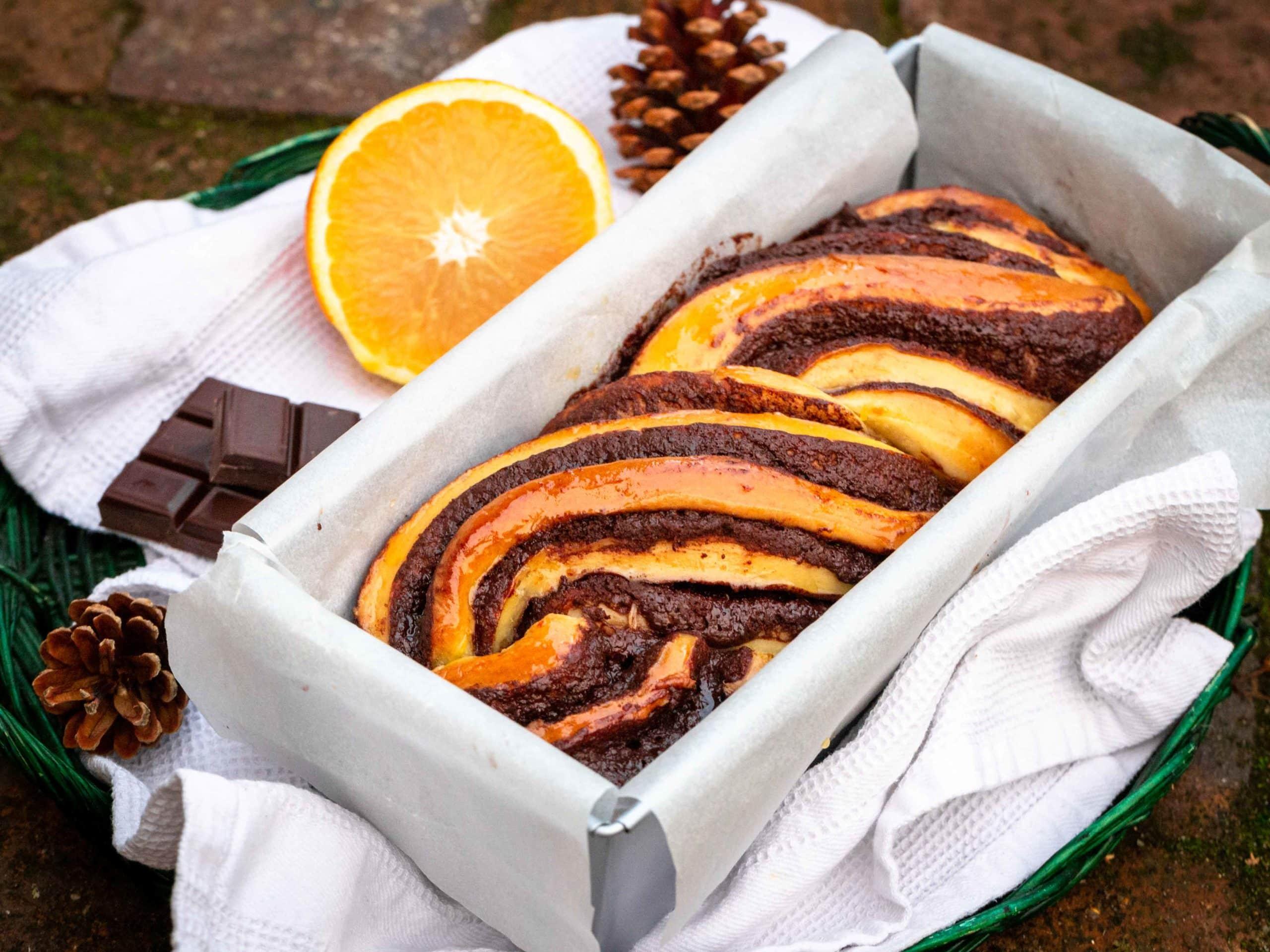 Babka Chocolat Orange