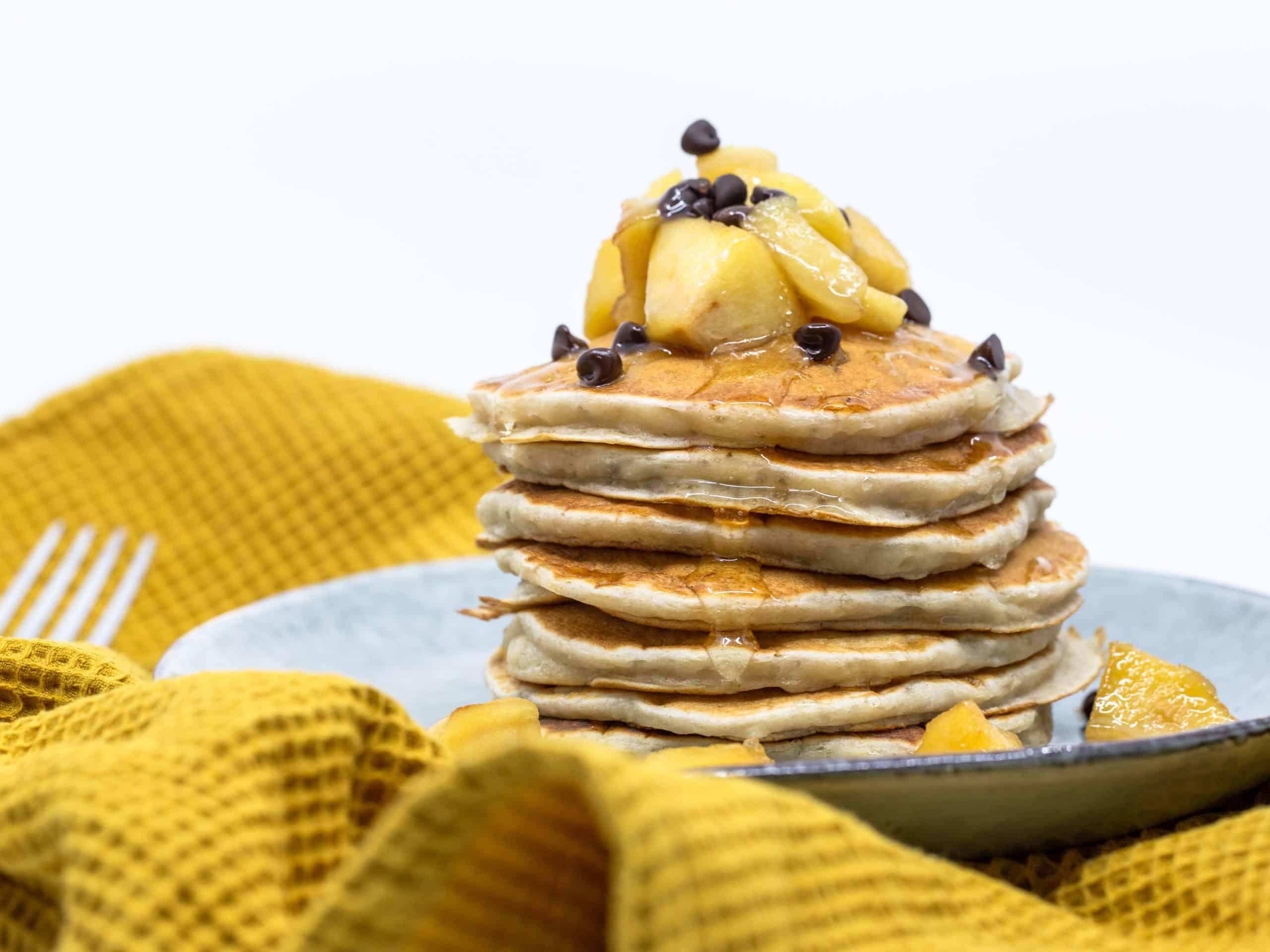 Banana Pancakes Vegan
