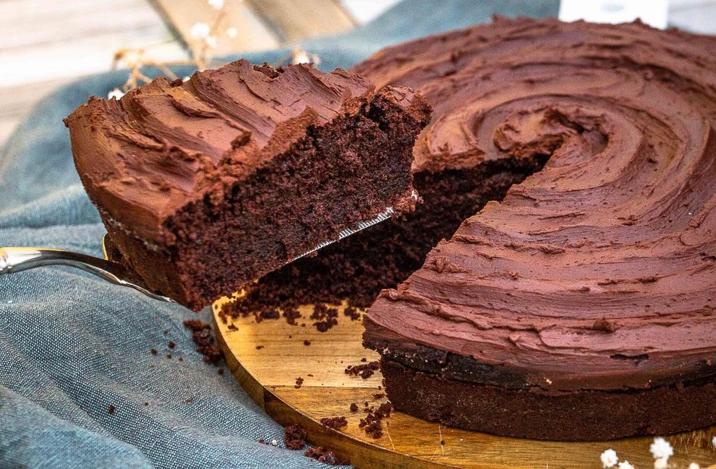 Le Gâteau au Chocolat (et sa Ganache au Chocolat)