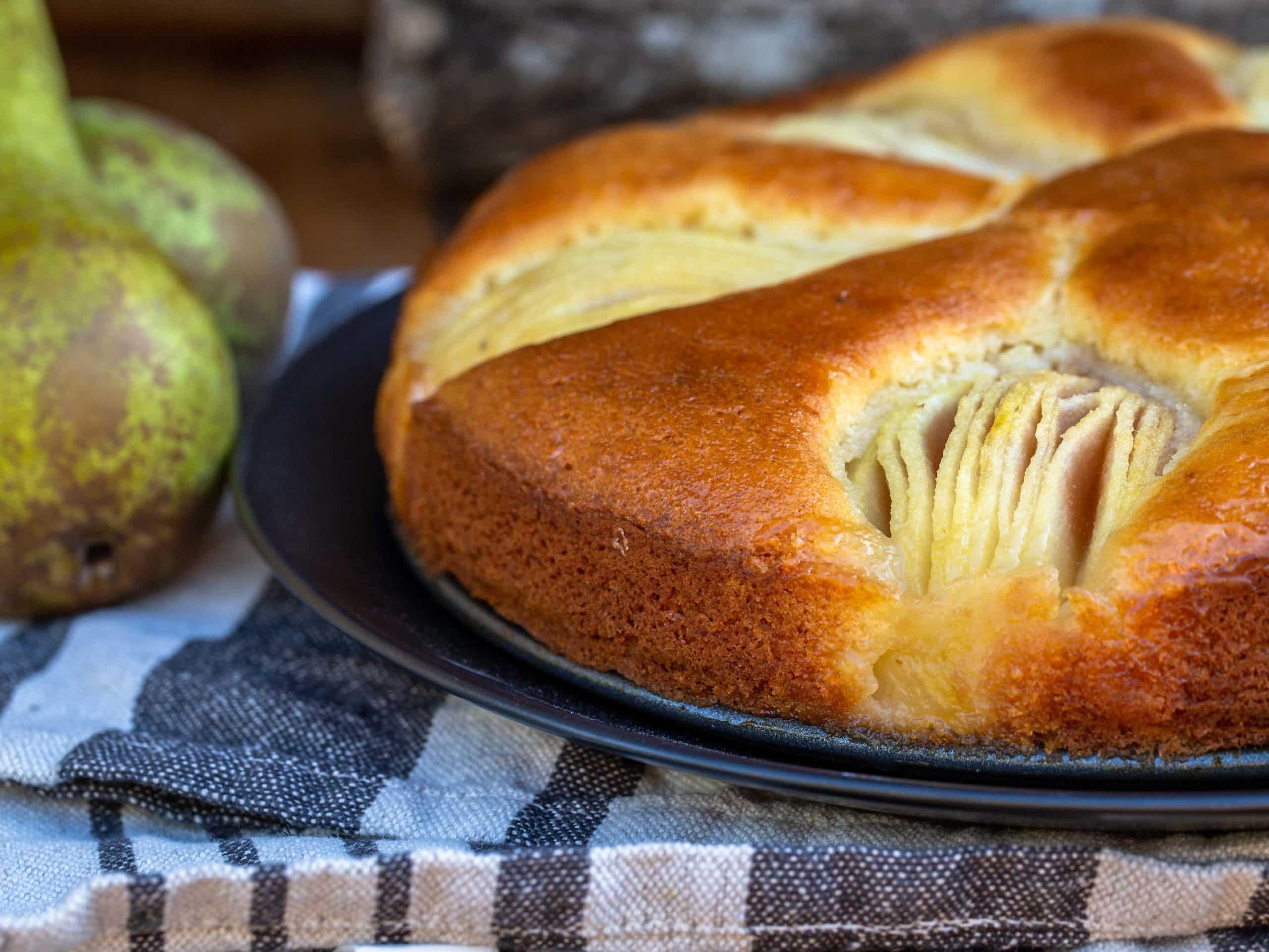 Gâteau au Miel et ses Poires Fondantes