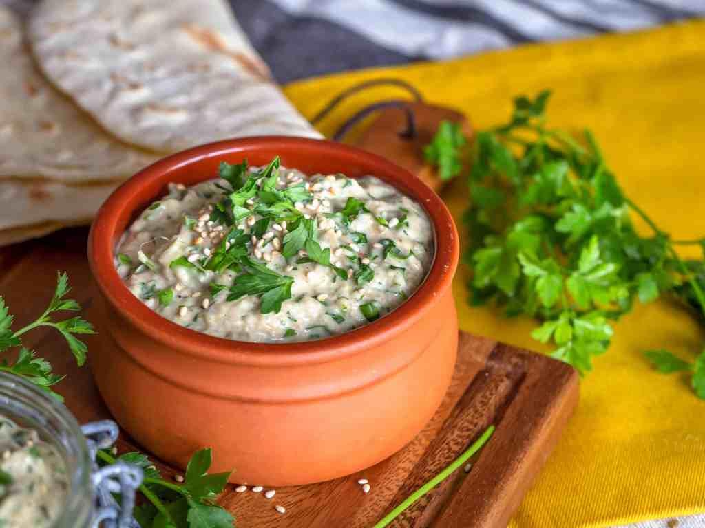 Recette de Caviar d'Aubergine à l'égyptienne (vegan et sans gluten) !