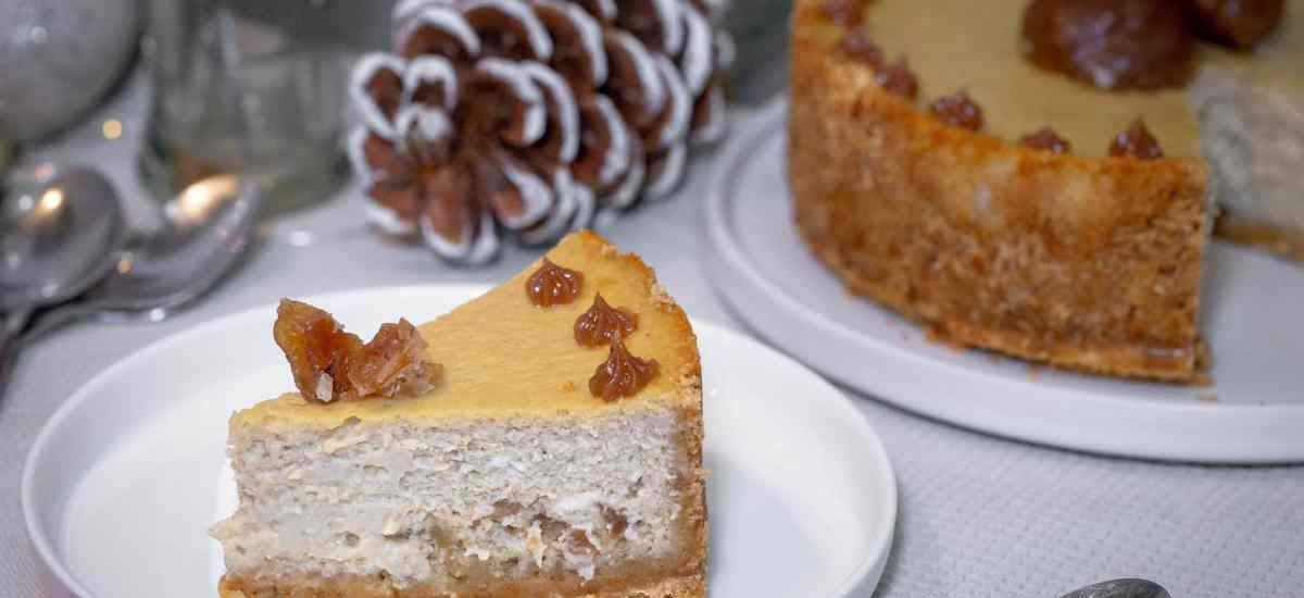 Cheesecake Double Marrons