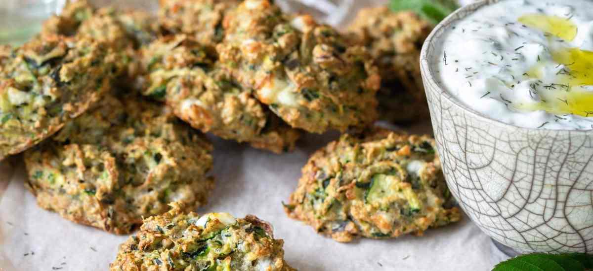 Bouchées Moelleuses Courgettes Fêta (Sans Gluten)