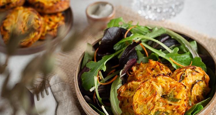 Mini Galettes de Légumes au four (façon hashbrowns)