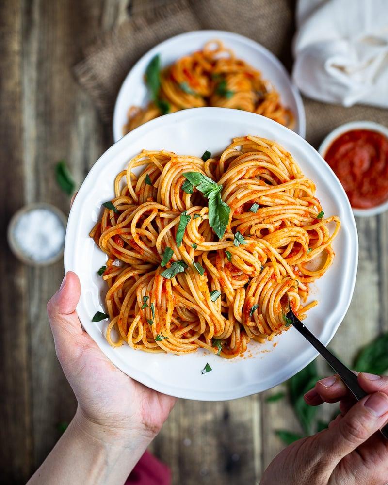 Sauce Tomate Maison (pour Pâtes, Pizza, Lasagnes etc…)