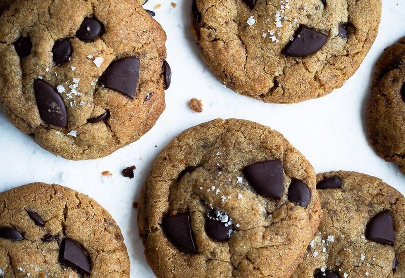 Cookies Vegan Chocolat Noir et Huile d'Olive