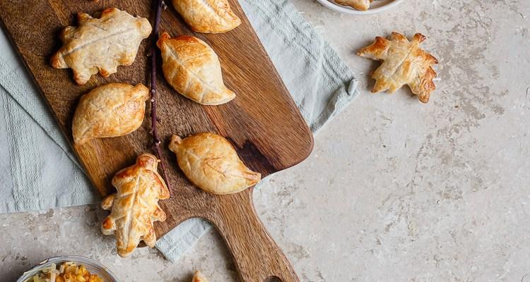 Chaussons à la Patate Douce, Maïs et Comté