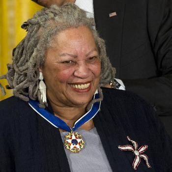 "In this 2012 file photo, author Toni Morrison received a Medal of Freedom award. Her books ""Beloved"" and ""The Bluest Eye"" could be banned in Virginia schools. (Carolyn Kaster 