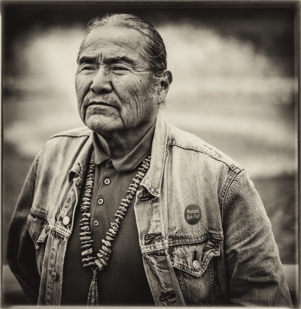 Duane Yazzie, photo by Robert Esposito.