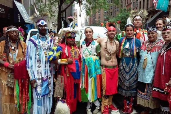 The East Coast Two Spirit society is crowdfunding to get a float into the march that is the climax to NYC Pride 2016.  Courtesy East Coast Two Spirit society.