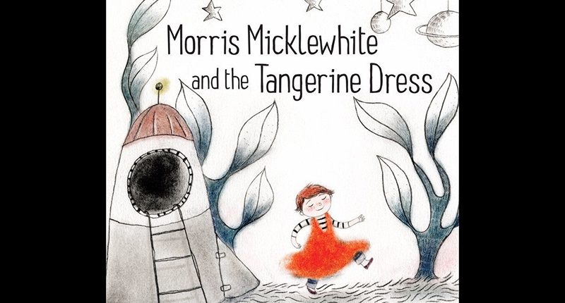Morris Micklewhite and the Tangerine Dress (Photo via Amazon.com Screen capture)