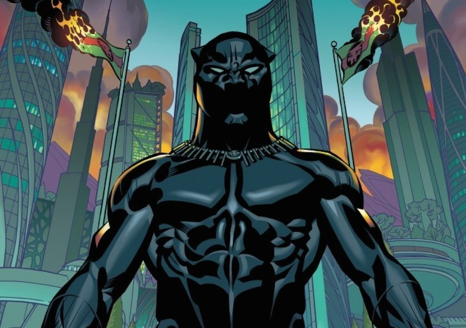 The first issue of Black Panther, a Marvel series written by Ta-Nehisi Coates, was released last month. Marvel Comics