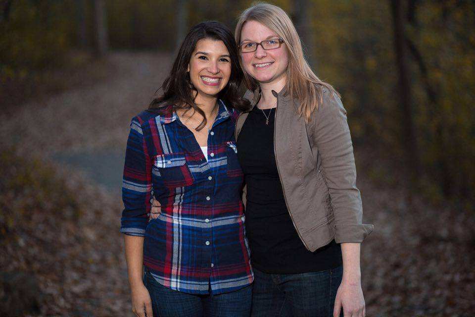 Minnesota Democratic House candidate Erin Maye Quade (left) and her wife, Alyse Maye Quade. CREDIT: Courtesy Of Erin Maye Quade.