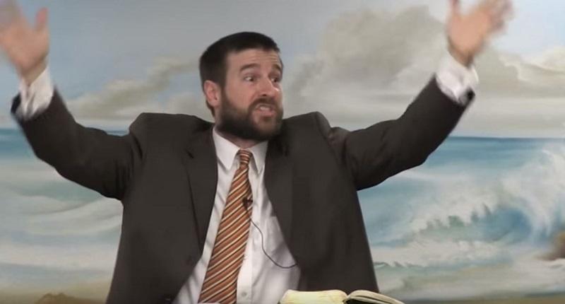 Pastor Steven Anderson (Screenshot/YouTube)