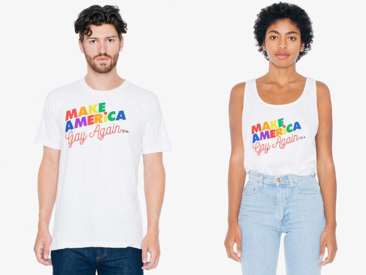 American Apparel.