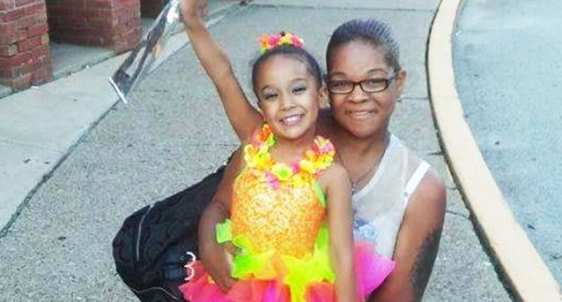 Courtney Mike-Wilson and daughter Nariya -- via GoFundme