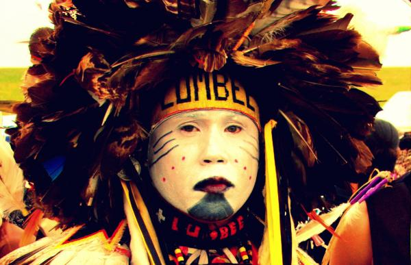 Louis Campbell (Lumbee) - Photo: Vincent Schilling.