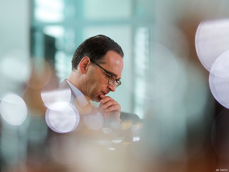 Justice Minister Heiko Maas. AP photo.