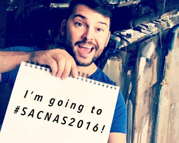 SACNAS social media team member and University of Wisconsin-Madison SACNAS Chapter Secretary Nik Santistevan says he's going to SACNAS 2016. Courtesy Facebook/SACNAS.