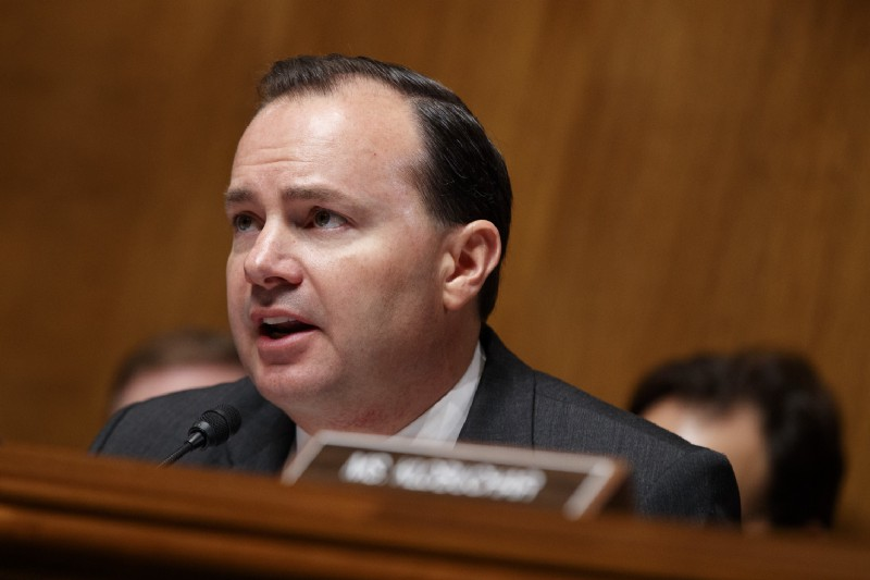 Sen. Mike Lee (R-UT). CREDIT: AP Photo/Evan Vucci.