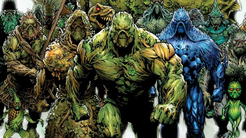 Swamp Thing, DC Comics.