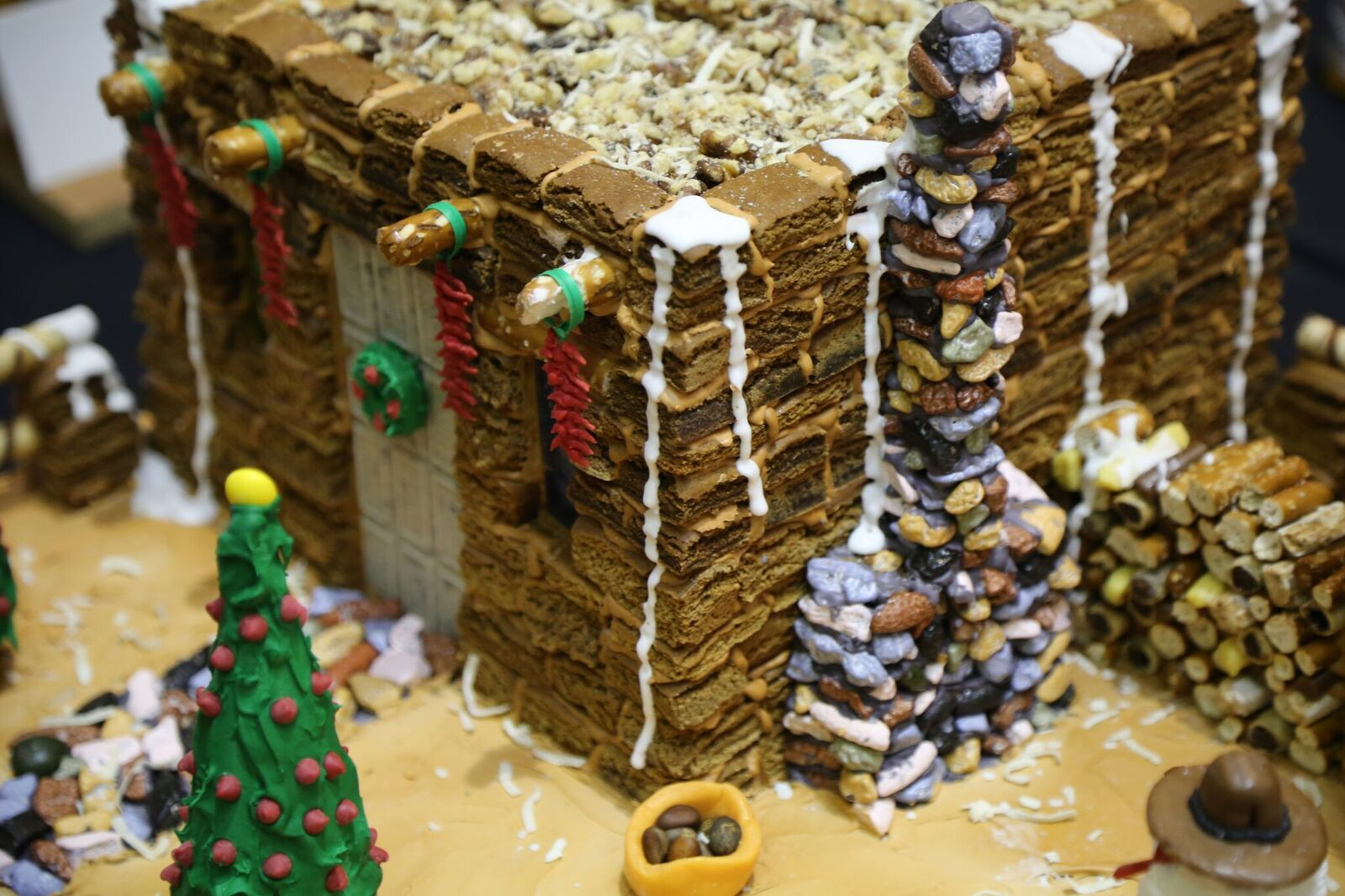 Pueblo Gingerbread House Contest submission (courtesy IPCC).