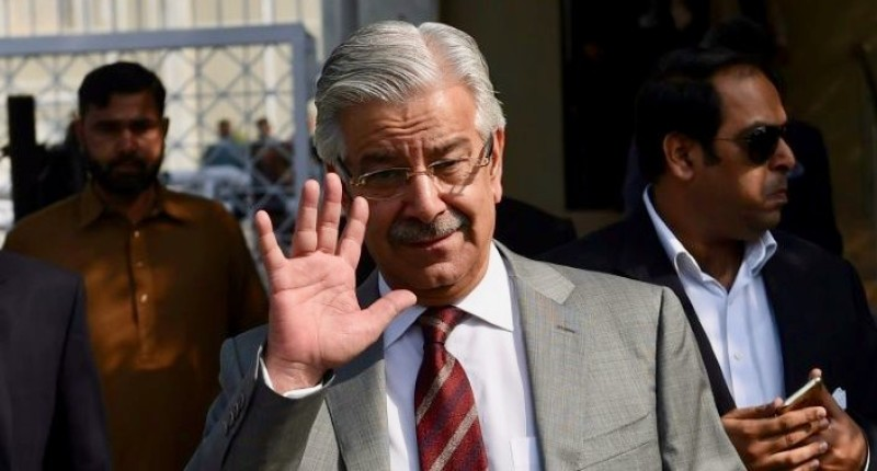 Pakistan Defence Minister Khawaja Asif threatened nuclear retaliation against Israel after apparently being tricked by a story on a fake news site.