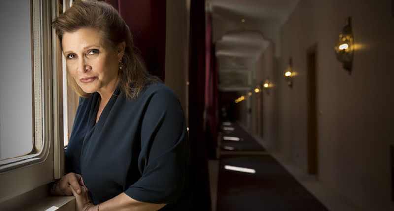 Carrie Fisher (Wikimedia Commons).