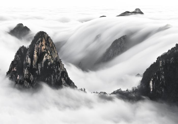 """Huangshan Falls"""