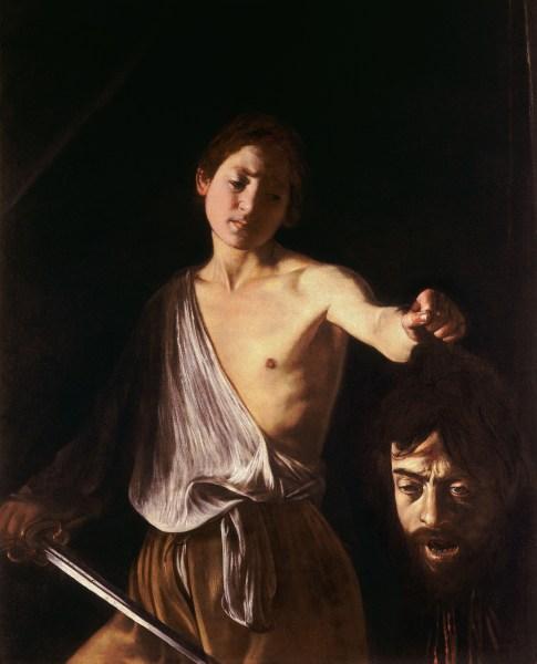 Caravaggio - David con la testa di Golia.