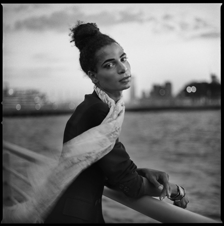 """Mark Seliger, """"Mahayla McElroy"""" (2015), gelatin silver print 36 x 36 inches, Edition of 7+2AP."""