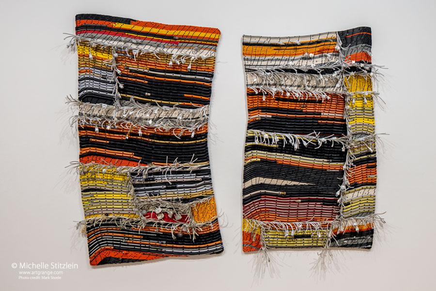 Wool Pekoe, 2017, 7'H x 9'W x 5'D.