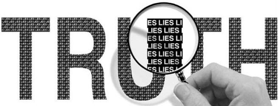 Truth made up of lies by blogs.ubc.ca.