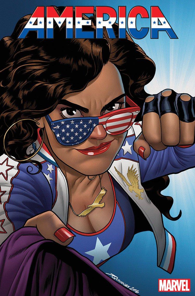 Marvel's America Chavez, artist Joe Quinones.