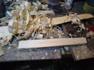 Rectangular piece of wood