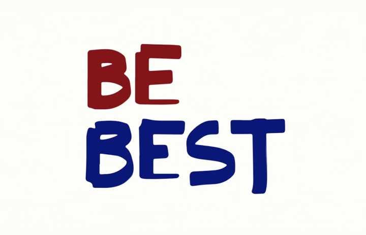 """The logo for """"Be Best"""" allegedly designed by Melania Trump herself (image courtesy the White House)."""