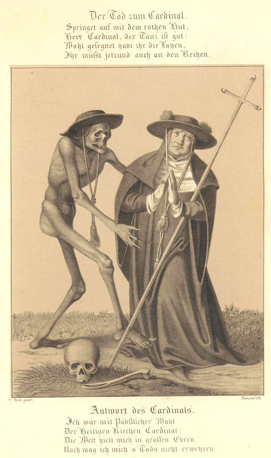 Dance Of Death: Cardinal and Bishop.