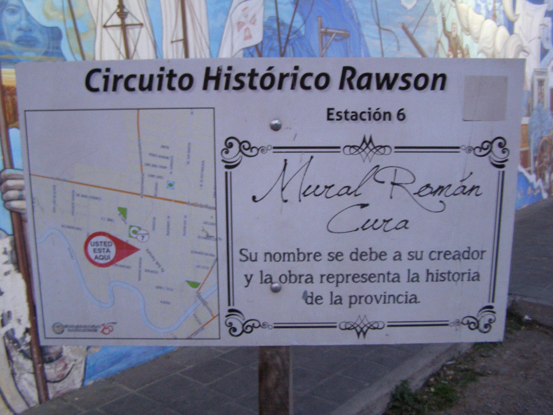 Circuito Ups : Román cura mural close ups 1.